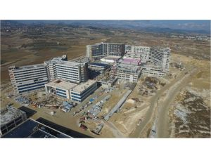 Çamsarı: Şehir hastanesinin yüzde 72'si tamamlandı