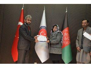 Afganistan'da Öğretmenler İçin 3. Grup Meslek İçi Eğitim Programı Tamamlandı