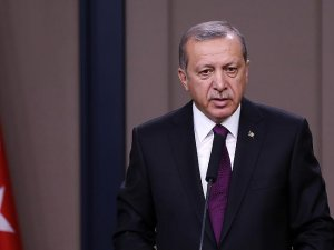Erdoğan şehit ailesine taziye telgraf