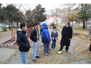 Başkan Kazgan, Başpınar Parkı'nda İnceleme Yaptı
