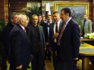 Yazıhan Heyetinden Bakan Tüfenkci'ye Ziyaret