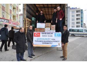 Bayırbucak Türkmenlerine Yardımlar Yola Çıktı