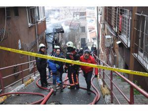 Metruk bina yangını çevreye sıçradı, mahalleli isyan etti