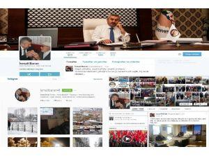 Başkan Baran Sosyal Medya Üzerinden Vatandaşa Ulaşıyor