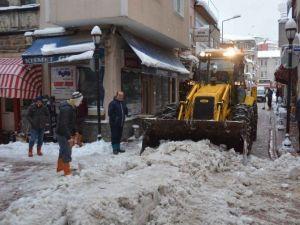 İnebolu'da Kar Esareti