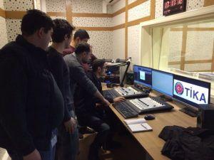 TİKA Tarafından Azerbaycan'da Asan Radyo Kuruldu