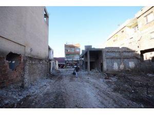 Osmaniye'de Yeni Yol Açma Çalışmaları