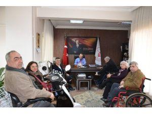 Edirne Kent Konseyi Çalışma Grubu'ndan Erişilebilirlik Ziyareti