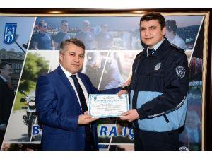 """Büyükşehir Zabıtasına, """"İş Sağlığı Ve Güvenliği"""" Eğitimi"""