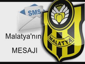 Alima Yeni Malatyaspor'da Sms Kampanyasının Startı Veriliyor