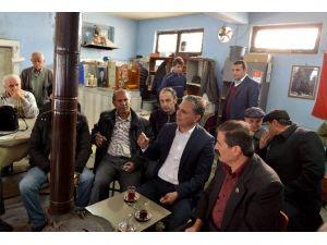 Başkan Uysal, Esnaf Ve Vatandaşlarla Buluştu
