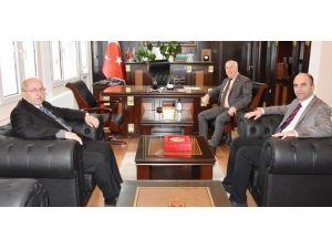 Başkan Albayrak'tan Marmara Ereğlisi Kaymakamı Karameşe'ye Ziyaret