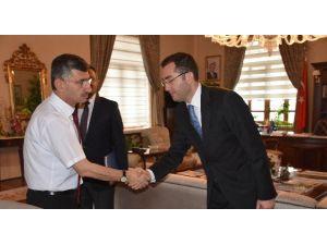 TKDK Manisa İl Koordinatörlüğüne Atanan Kürşat Dağdelen'den Vali Bektaş'a Ziyaret