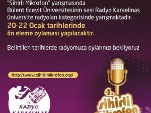 Radyo Karaelmas 'Sihirli Mikrofon' Yarışmasında Finalde