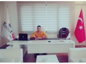 Türkiye Gençlik Ve Spor Konfederasyonu Kayapınar İlçe Başkanlığı'na Aziz Denktaş Atandı