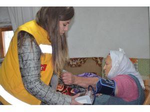 Bodrum'da 'Büyüklere Saygı' Projesi Sürüyor
