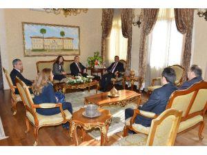 Batı Akdeniz Gümrük Ve Ticaret Bölge Müdürlüğünden Vali Muammer Türker'e Ziyaret