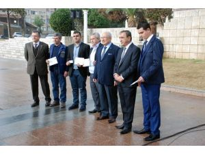 Mersin'de Toplu Taşıma Şoförleri Sertifika Aldı