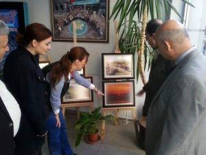 Manisa'da Fotoğraf Ve Naht Sergisi Sanatseverler İle Buluştu
