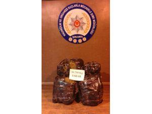 Şanlıurfa'da 38 Kilo Esrar Ele Geçirildi