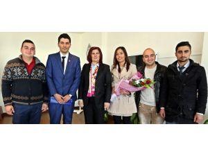 CHP Köşk Gençlik Kollarından Başkan Çerçioğlu'na Ziyaret