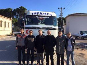 Gömeç'ten Bayır Bucak Türkmenlerine Şefkatli Yardım