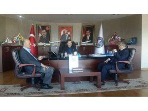Başatlı Boru Profilin Müdürü Başkan Yemenici'yi Ziyaret Etti
