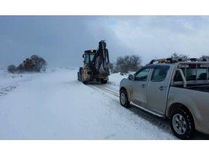 Bandırma Belediyesi Karla Mücadeleye Devam Ediyor