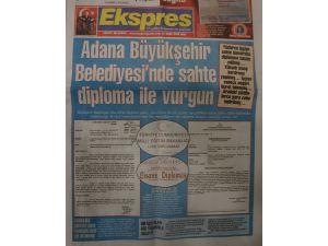 Adana Büyükşehir Belediyesi'nde sahte diploma vurgunu iddiası