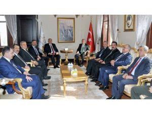 Yargıtay Cumhuriyet Başsavcısı Mehmet Akarca'dan Afyonkarahisar Valisi Hakan Yusuf Güner'e Ziyaret