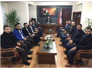 Genç MÜSİAD'dan Emniyet Müdürü Urhal'a Ziyaret