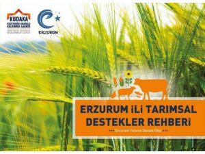 Kudaka'nın Erzurum İli Tarımsal Destekler Rehberi Yayınlandı