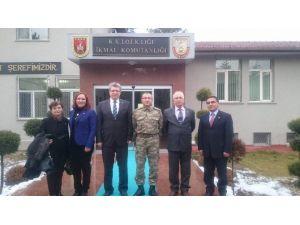 Başkan Demirkırkan'dan Tuğgeneral Gülmez'e Ziyaret