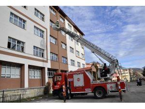 Gümüşhane Belediyesi 110 Yangına Müdahale Etti