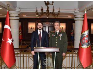 Enerji Bakanı Berat Albayrak, Genelkurmay'ı ziyaret etti