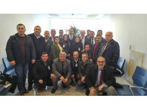 AK Parti Gülşehir İlçe Başkanlığı Milletvekillerini Ziyaret Etti