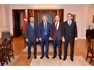 AK Parti Nevşehir Milletvekilleri İç İşleri Bakanı Efkan Ala'yı Ziyaret Etti