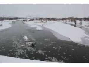 Karasu Nehri Buz Tuttu