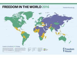 Freedom House: Türkiye'de özgürlükler geriye gidiyor