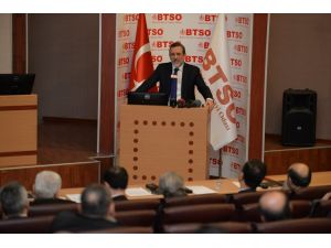 BTSO meclis toplantısında geleceğe dönük projeler konuşuldu