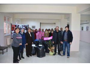Karaman'da Temiz Şehir Sağlıklı Nesiller Projesine Okullardan Tam Destek