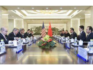 Kerry: ABD ve Çin, Kuzey Kore'ye karşı yeni bir BM önlemi konusunda hemfikir