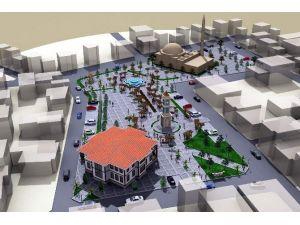 Germencik Kent Meydanı İçin Start Verildi