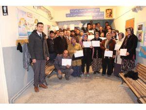 Karaman'da 232 Kişiye Sürü Yöneticisi Sertifikası Verildi