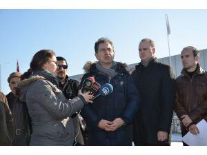 Silivri'deki umut nöbetine uluslararası basın kuruluşları devam etti