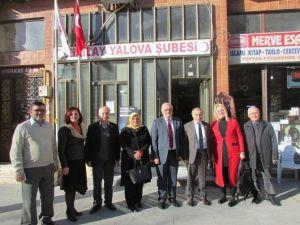 Vali Cebiroğlu'ndan Kızılay'a Ziyaret