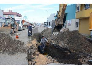 Sanayi Sitesinde Yağmur Suyu Drenaj Çalışması Başladı