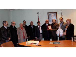 Erzurum Kent Konseyinden Dagc'ye Ziyaret