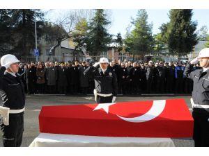 Polis memurunun cenazesi Trabzon'a gönderildi