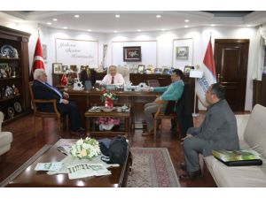 KMBB'den Başkan Salman'a ziyaret